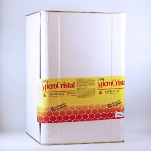 Cera microcristal castanho claro 10kg - und