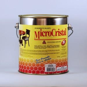 Cera microcristal castanho claro 2,8kg - und