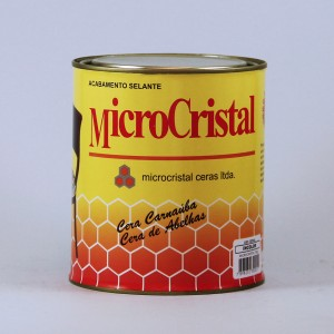 Cera microcristal castanho escuro 380 gr - und